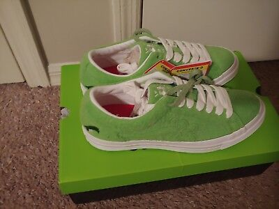 The Grinch X Tyler The Creator X Converse Golf Le Fleur One Star Ox Green 10 5