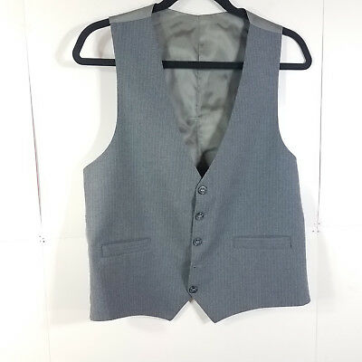 Mens Wedding Vest size S Wedding Prom Party Formal Uniform