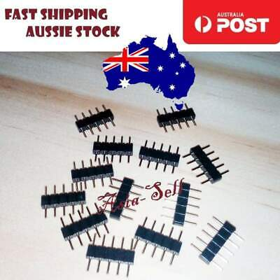 100pcs 5Pin Male Header Adapter Connector For RGBW 3528 5050 SMD LED Strip Light