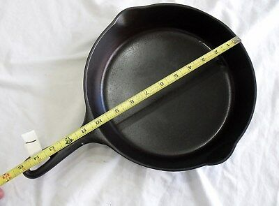 Vintage #8 Wagner Ware Sidney -0- Cast Iron Cooking Skillet PAn No. 1058X