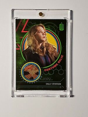 2016 Doctor Who Extraterrestrial Encounters Costume Relic Sally Sparrow 069/499