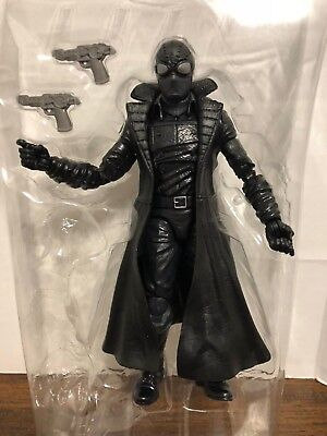 "Spider-Man Noir 6"" Marvel Legends Action Figure Lizard BAF Series Loose"