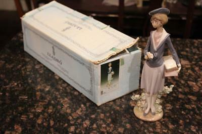 Lladro 5707 After School Porcelain Figurine Retired 1994 High Value Piece