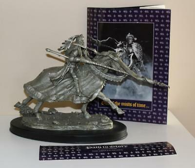 1985 Franklin MInt Fine Pewter Path To Glory Heroic Sculpture by James Ponter