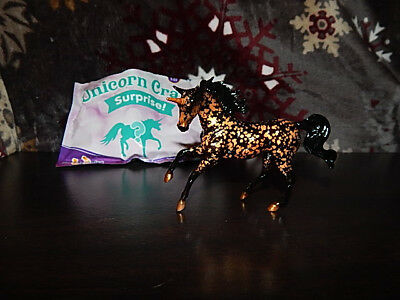 Breyer Unicorn Crazy Surprise Stablemate Mystery/Chase in Black/Gold- Walmart
