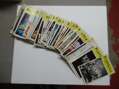 Vintage Broadway Theatre Playbill Lot of 60 Vintage Hair Gregory Mata Hari More