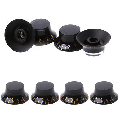 Speed Control Knob Button for Gibson Les Paul Electric Guitar Parts Black