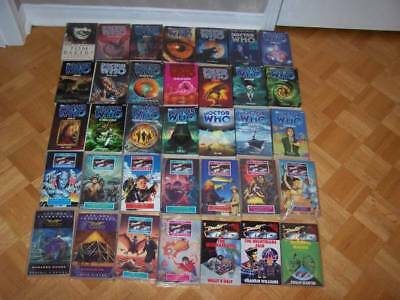 35 Doctor Who Books - very good condition