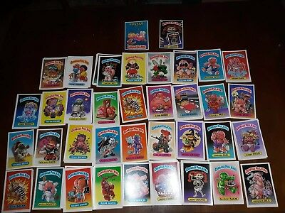 124 Giant 1st series 1986 Topps Garbage Pail Kids Card Stickers 5x7 inches