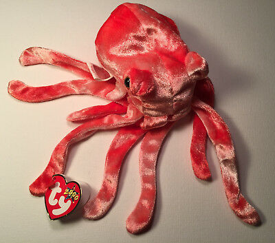 7905b6ee0f5 WIGGLY THE SQUID Ty Beanie Baby Tush Tag 2000 -  1.99