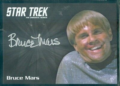Star Trek Original Series 50th Anniversary Bruce Mars as Finnegan Auto Card