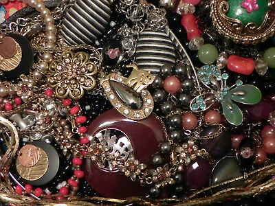 Estate Sale Lot of Vintage to Modern Jewelry, #807, Some Signed