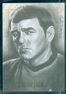 Star Trek Original Series 50th Anniversary Sketch Card by Emily Tester