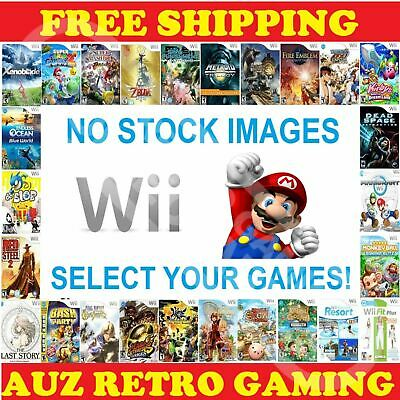 Nintendo Wii / Wii U Ultimate Game Selection MINT DISC