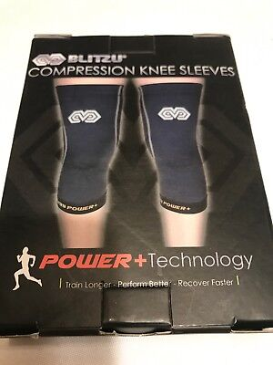 5093c1fd26 BLITZU COMPRESSION KNEE Sleeves X-Large Power + Technology - $6.99 ...