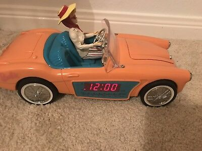 Vintage Car Alarm Clock And Radio