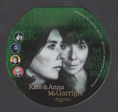 CANADA BOOKLET BK461 8 x 90c CANADIAN RECORDING ARTISTS - McGARRIGLE SISTERS