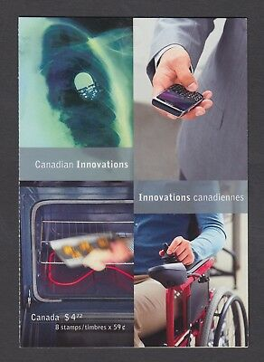 CANADA BOOKLET BK466 8 x 59c CANADIAN INNOVATIONS