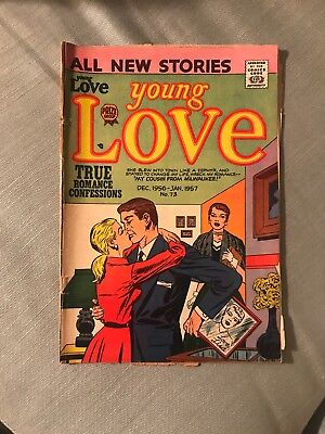1956 Young Love Romance Comic Golden Age Prize Group