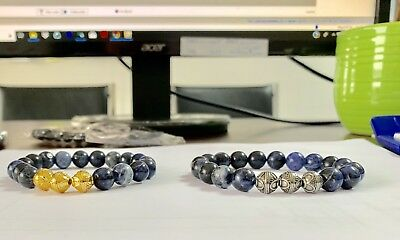 Energised Sodalite Bracelet 10 MM