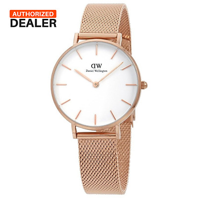 Daniel Wellington Petite Melrose Rose Gold Ladies Watch NEW WITH TAGS DW00100163