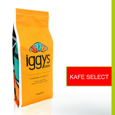 Iggys Coffee 1Kg Kafe Select Premium Coffee Beans Fresh Roasted Delivered