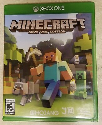 Minecraft: Xbox One Edition (Microsoft Xbox One, 2014) Excellent Used Condition