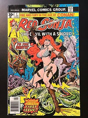 RED SONJA #1 (1977) High Grade! NM-