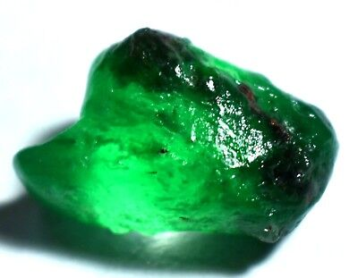 16.60 Natural Green Colombian Emerald AGSL Certified Untreated FACET Rough