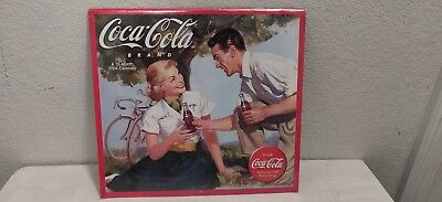**NEW** 2004 Coca-Cola Brand 16-Month Sealed Wall Calendar ***Free Shipping!***