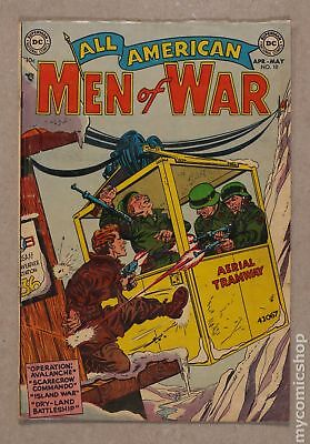All American Men of War #10 1954 GD/VG 3.0