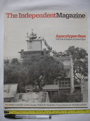 """""""The Independent Magazine"""" 05/03/2005-Saigon fall by John Pilger-MOBY-Ruby Wax"""
