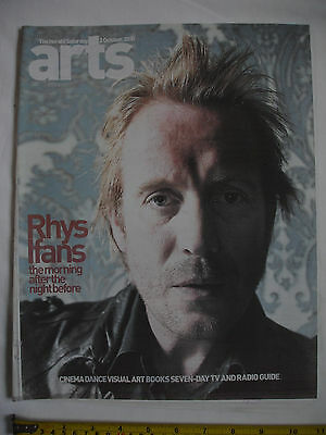 The Herald Arts Magazine-2nd October 2010-RHYS IFANS cover. Colm Toibin.