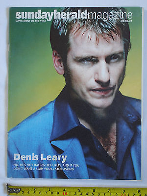 Sunday Herald Magazine 9th June 2002. Denis Leary cover. Cuba photography.