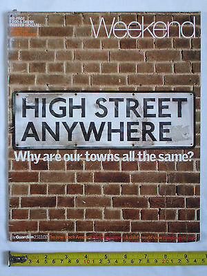 Used The Guardian Weekend Magazine 23-11-2002. High Street Anywhere cover.