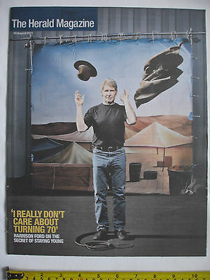 The Herald Magazine-13th August 2011-HARRISON FORD cover.