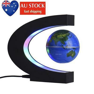 AU LED Magnetic levitation globe Anti Gravity Globe Floating World Map US/EU/AU