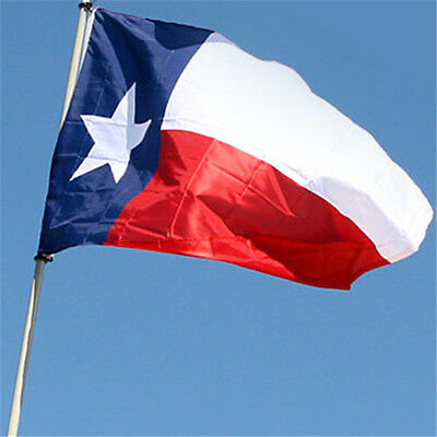 3'x5' Polyester TEXAS STATE FLAG Lone Star TX USA Grommets Red White Blue