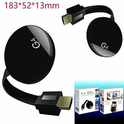 HDMI WiFi TV Dongle Airplay Stream Wecast Display Receiver 4nd Online Update VS