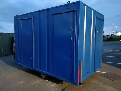 """ULTRA"" towable cabin site welfare unit, canteen, toilet,  generator £4500+vat"