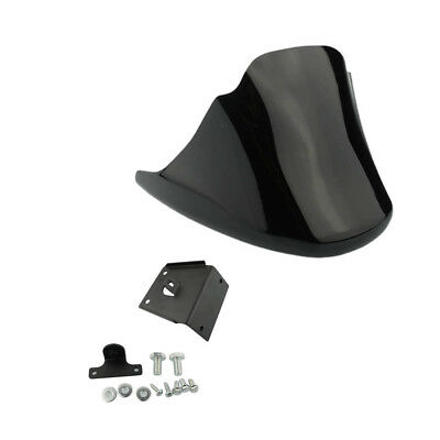 Gloss Black Front Chin Spoiler Fairing Mudguard Cover For Harley XL883 XL1200