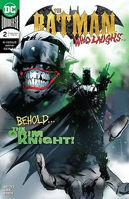Batman Who Laughs #2 (Of 6) Dc Comics Near Mint 1/16/19