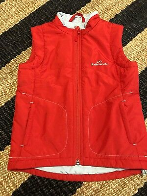 Kathmandu Childs Kids Boy Girl Vest Size S 4-6 Yrs