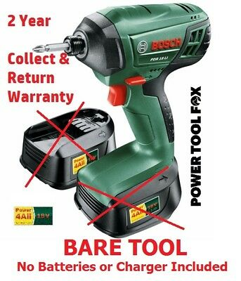 savers BARE TOOL Bosch PDR18Li Cordless IMPACT WRENCH 0603980371 FITTING NEW
