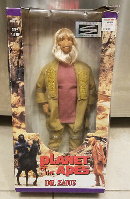 "DR. ZAIUS Planet of the Apes 12"" Inch 1/6 Scale Doll Action Figure NIB Kenner 98"