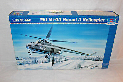 TRUMPETER 05101 MIL Mi-4A HOUND A HELICOPTER 1:35