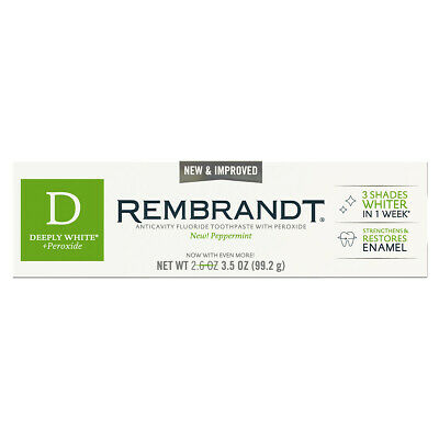 REMBRANDT Deeply White + Peroxide Toothpaste