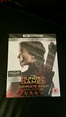 The Hunger Games Complete Collection (4K Blu-ray)