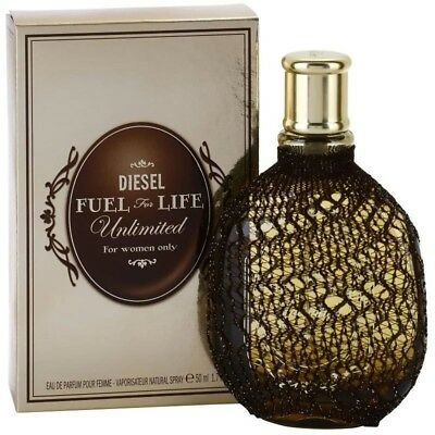 "Profumo Donna ""Diesel Fuel Unlimited ""  Edp 50 Ml  - Originale -"