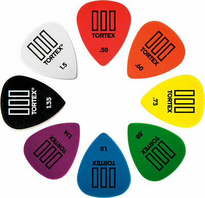 Dunlop Tortex TIII Picks all gauges Jazz T3 Guitar Picks / Plectrums 462R